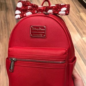 New Disney loungefly Minnie Mouse mini backpack